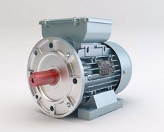 Volt Single Phase Electromotor With Flange